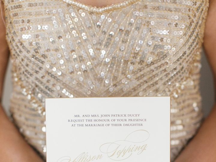 Tmx 1465588278328 Allison Ducey Wedding Invitation Winter Park, Florida wedding invitation