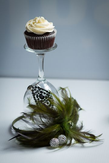 Valrhona Cupcake with Vanilla Bean buttercream