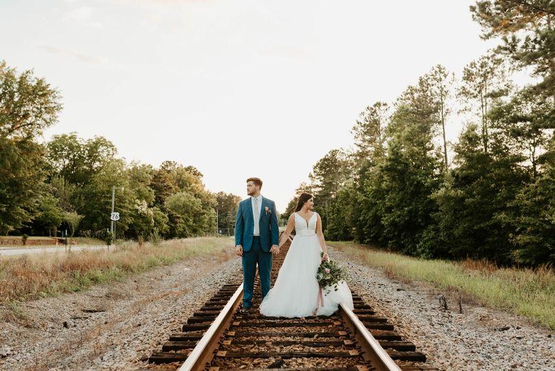 Bride + Groom in SC