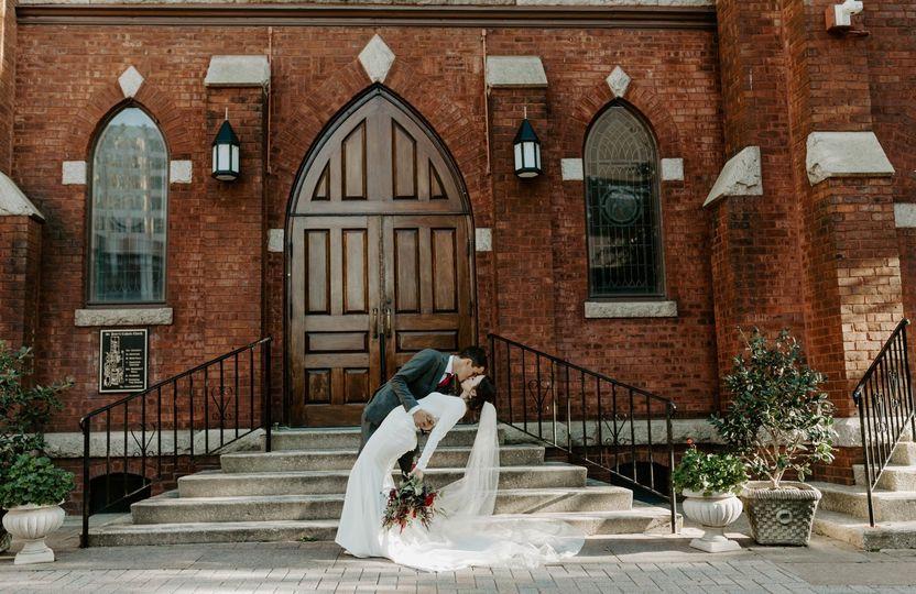 Bride + Groom in Charlotte, NC