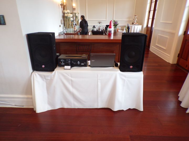 DJ - Wedding Setup