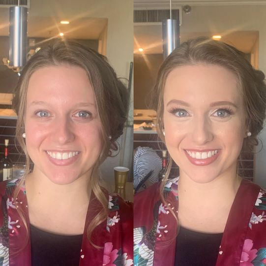 Glam make up
