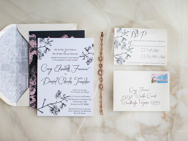 Tmx 1437497687777 Ms1 Ashburn wedding invitation