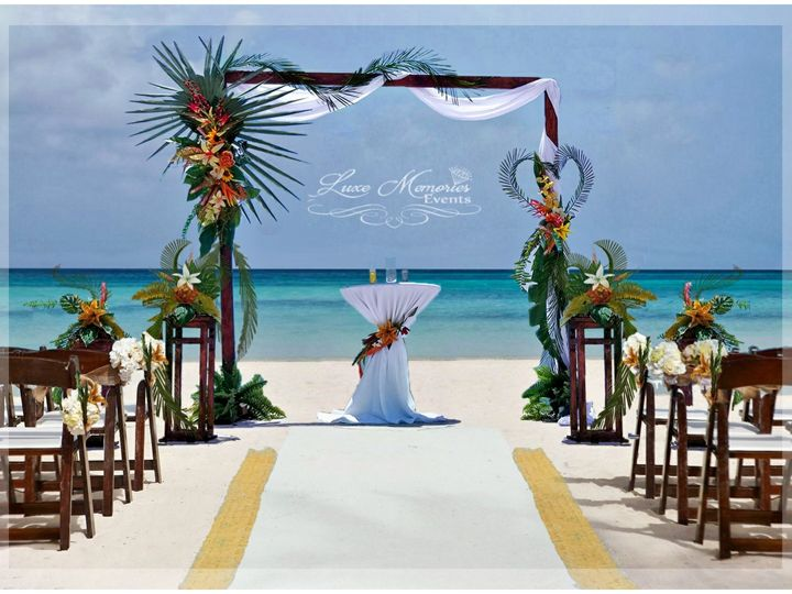Tmx Tropical Arch Logo 51 1866189 1571152083 Land O Lakes, FL wedding rental
