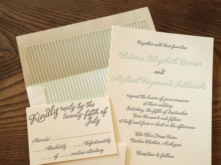 Tmx 1428355187246 Fa23cce4c2897ac4416165f55d522d4e Morrisville wedding invitation