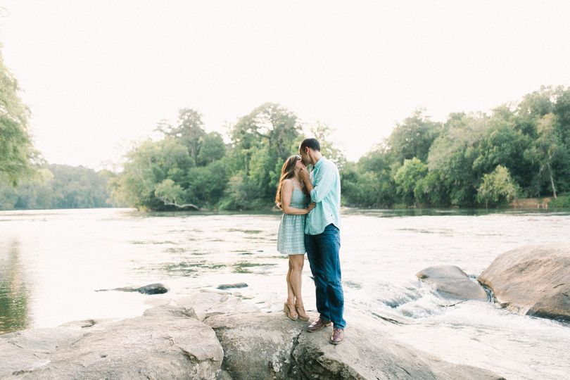 Engaged on the congaree