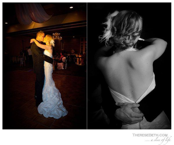 BRIDE AND GROOM DANCING AT RADDISSON LACKAWANNA STATION HOTEL RECEPTION, SCRANTON, PA