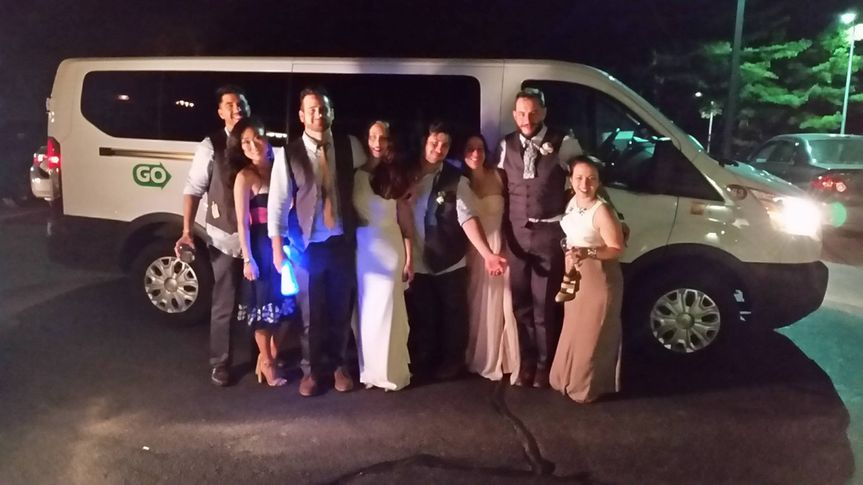 Bachelor or Bachelorette Party? These 13 passenger Executive vans are great for the occasion.
