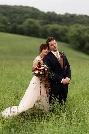 Couple in the meadow
