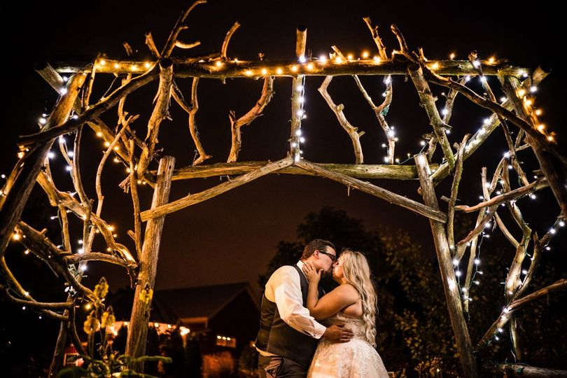 Cassidy & Jacob at the magical arbor | Photo credit: Ken Cravillion