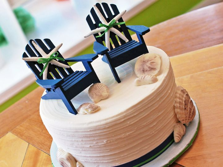 Tmx 1437881999963 Specialtycakeadirondackchairs Hampton, New Hampshire wedding cake