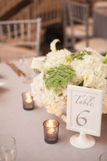 Table number 6