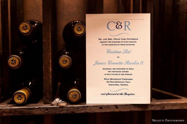 C & R wedding