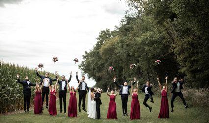 The wedding of Samantha and Matthew
