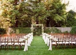 outside chairs set up