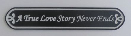 Tmx 1425663667973 A True Love Story Never End Exton, PA wedding favor