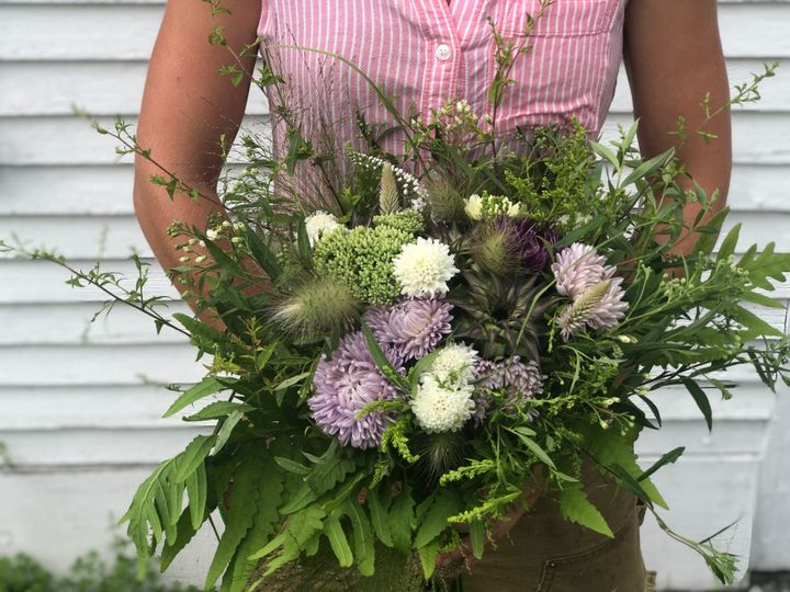 Lush meadow bouquet