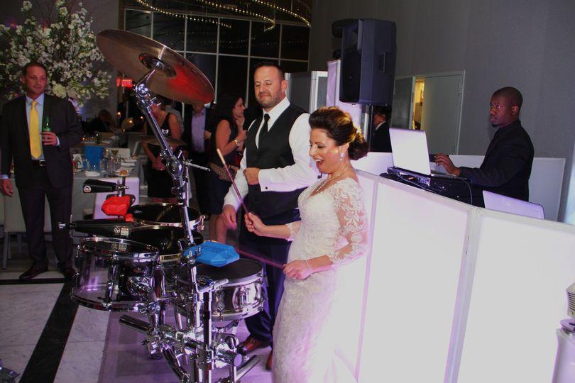 Drummers Michael & Jill