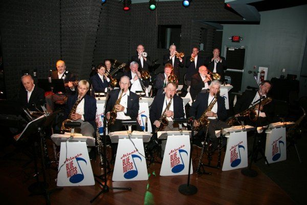 Tehre is nothing like a wedding couple and their guests Big Band swingin' the night away - just like...