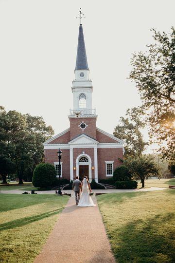 Church and steeple