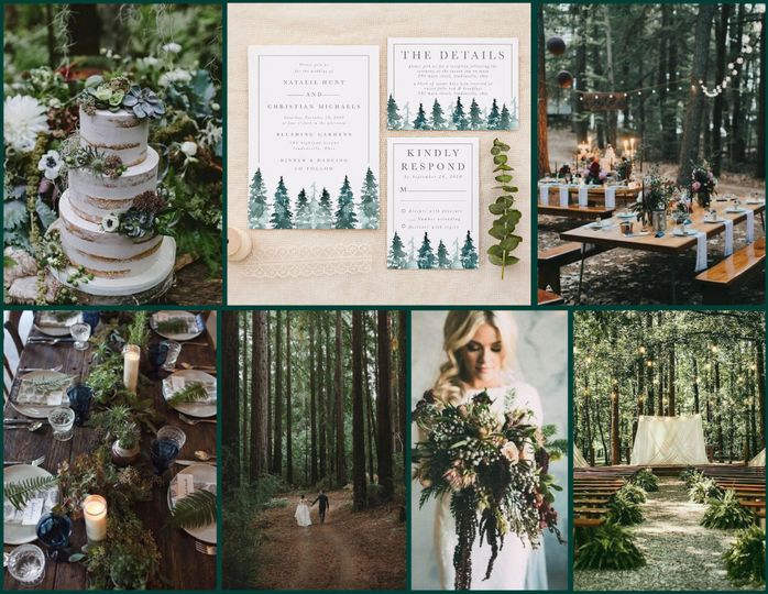 Woodsy Wedding Inspiration