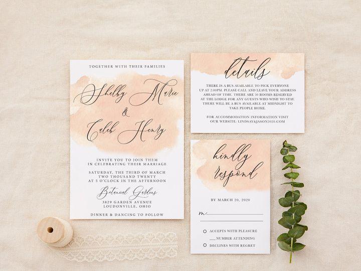Tmx Creamyblush Copy 51 1184289 157661606034824 Loudonville, OH wedding invitation