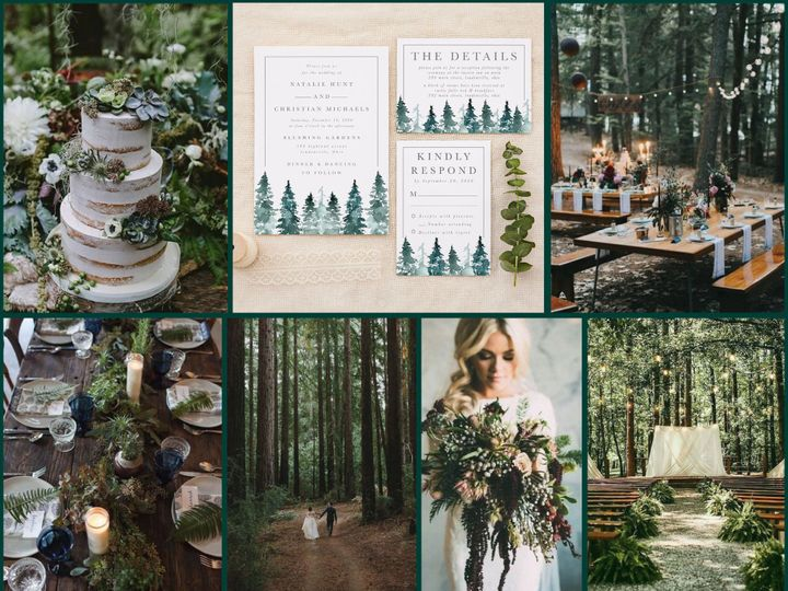 Tmx Moodboard Collage Woodsy 51 1184289 157679057714609 Loudonville, OH wedding invitation
