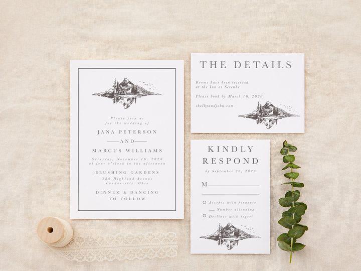 Tmx Mountain Landscape 51 1184289 158824846042222 Loudonville, OH wedding invitation