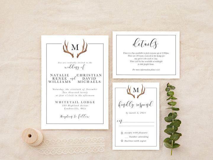 Tmx Rusticantler 51 1184289 157679035686457 Loudonville, OH wedding invitation