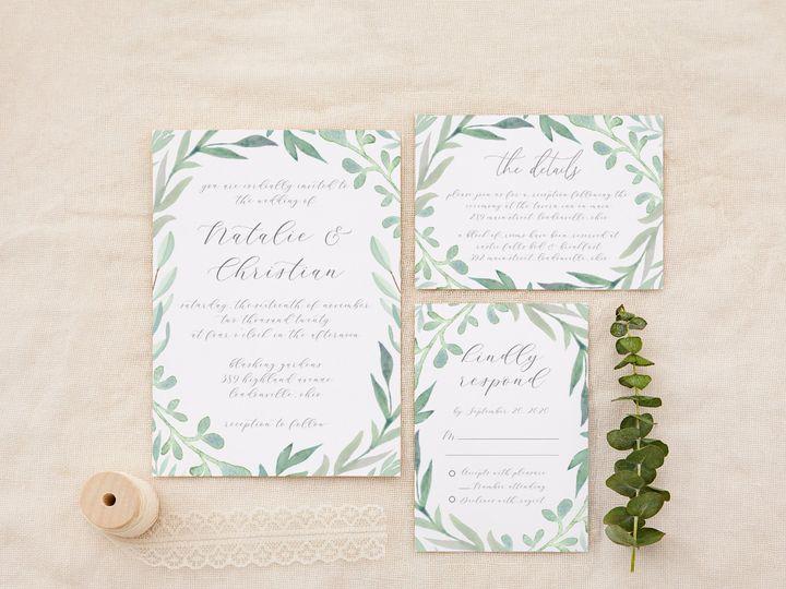 Tmx Silversagegrey 51 1184289 157670737773918 Loudonville, OH wedding invitation