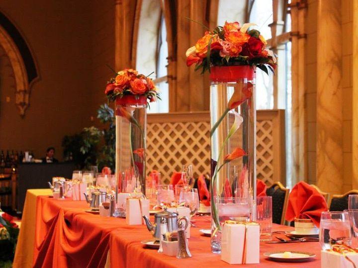 Tmx 1421944744881 Head Table Orange Spokane, WA wedding florist