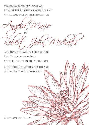 Lily do it yourself printable invitation suite