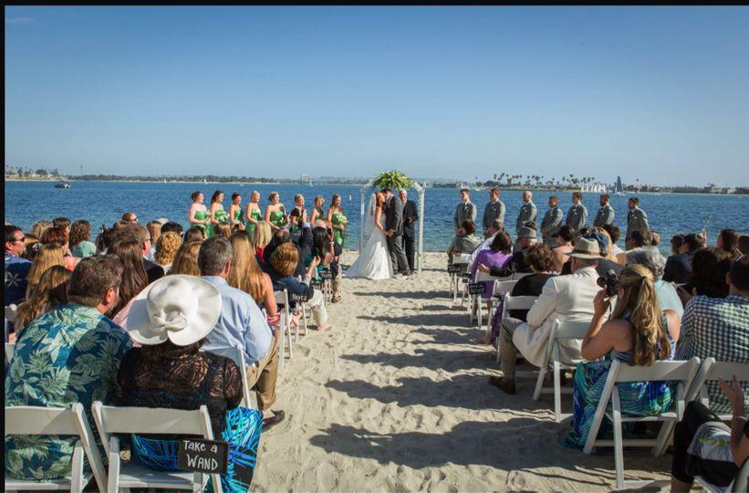 beach vows