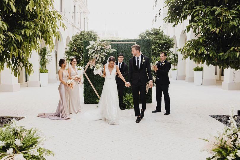 ceremony bridal party 51 1958289 161461266855398