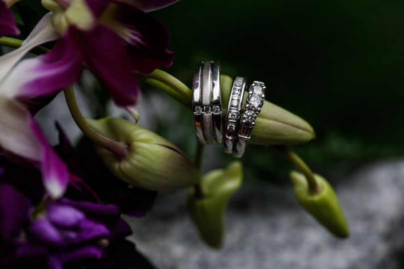 Wedding rings - eternal love