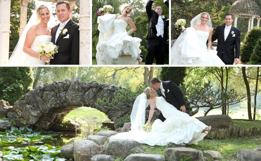 rochester wedding photographer - bridal portraits -sonnenberg gardens