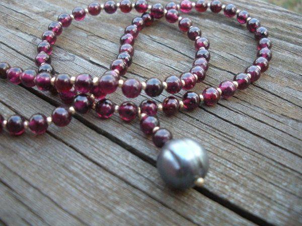 Tmx 1228875456736 Garnetandpearl2 Gaithersburg wedding jewelry
