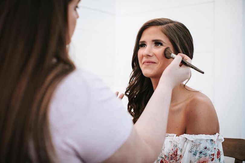 Getting the bride done