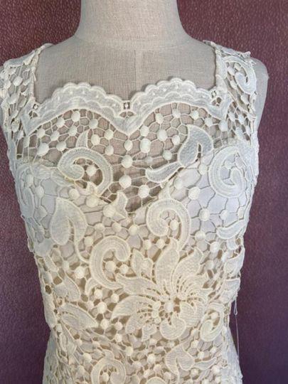 Intricate lace dress