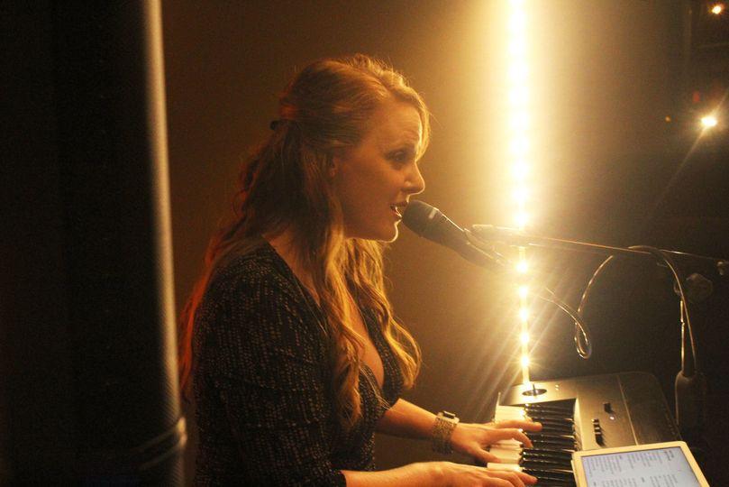 Singing at the Wine Loft