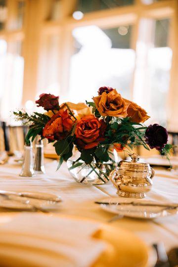 Table Floral Decor