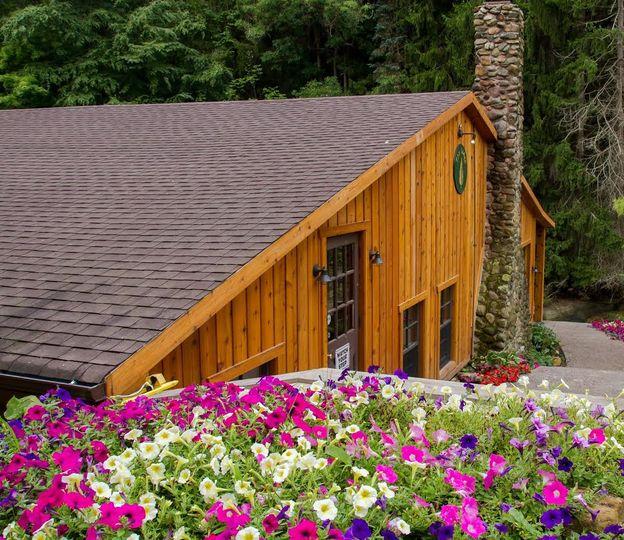 Wooden venue