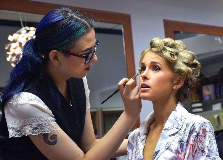 Makeup by Sophie Marcs