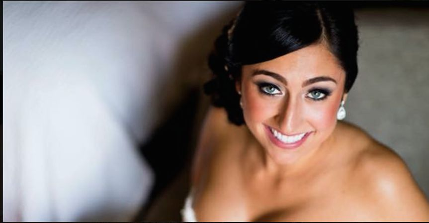 Gorgeous bride by Christina!