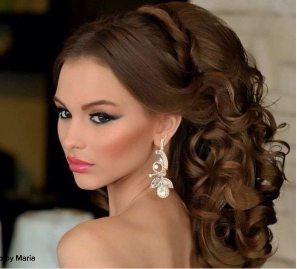 Hair and makeup by Maria