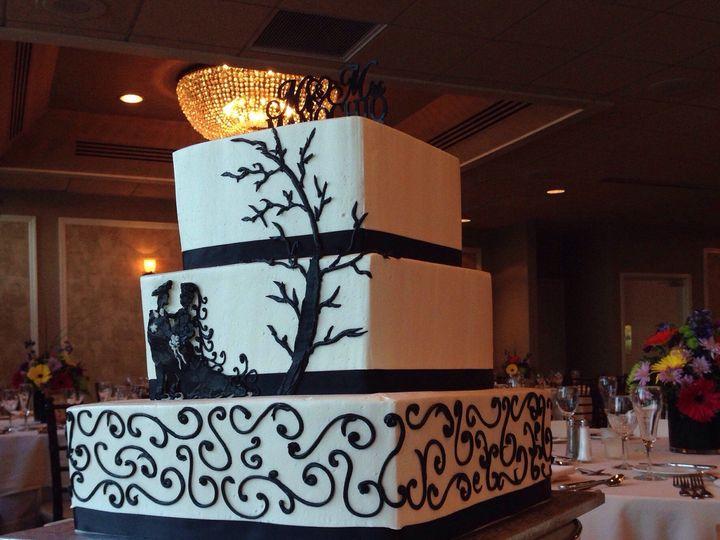 Tmx 1471744379661 Image Little Silver wedding cake