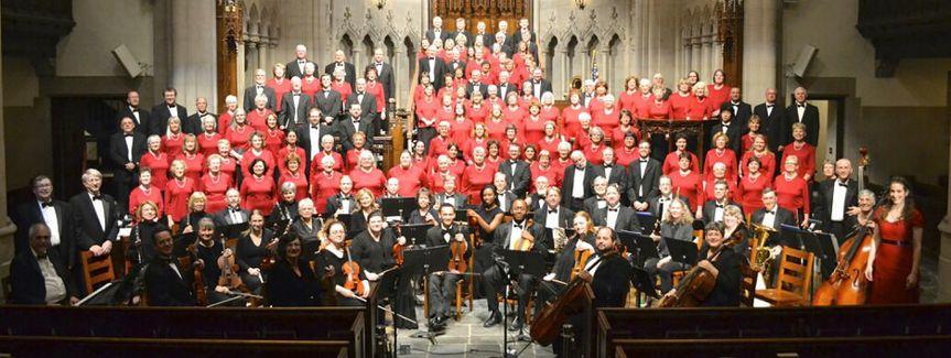 Concert with the Mercersburg Community Chorus in Mercersburg, PA