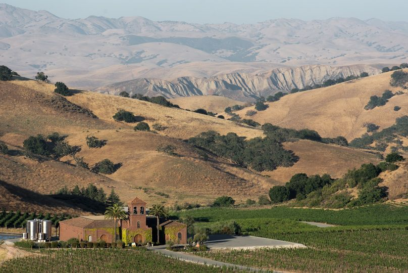 Winery and hills