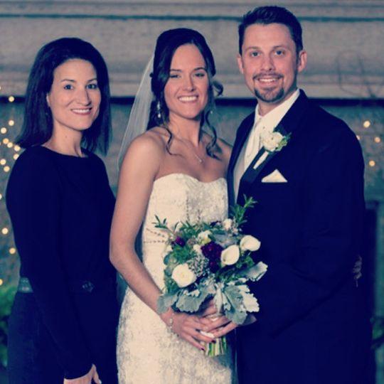 Recent wedding at St. Clements Castle
