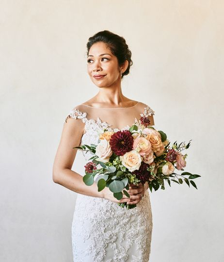 Portrait of the bride Ponte Winery - Stephen Tang Photo